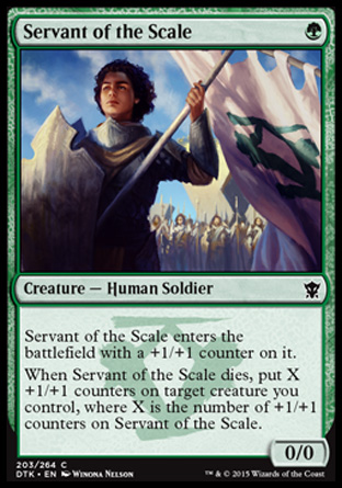 Servant of the Scale, Dragons of Tarkir