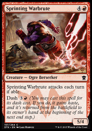 Sprinting Warbrute, Dragons of Tarkir