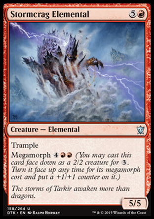 Stormcrag Elemental, Dragons of Tarkir