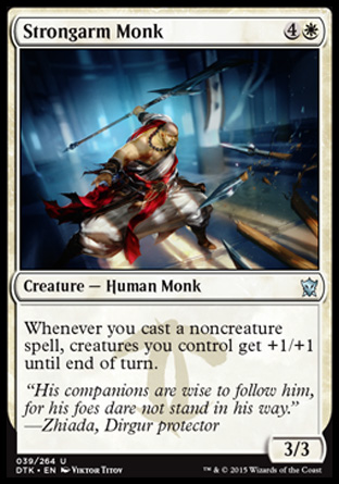 Strongarm Monk, Dragons of Tarkir