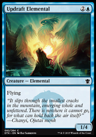 Updraft Elemental, Dragons of Tarkir
