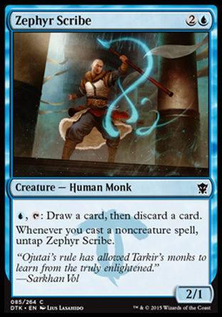Zephyr Scribe, Dragons of Tarkir