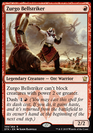 Zurgo Bellstriker, Dragons of Tarkir