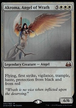 Akroma, Angel of Wrath, Duel Decks Anthology