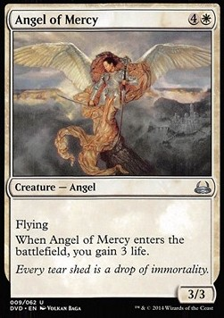 Angel of Mercy, Duel Decks Anthology