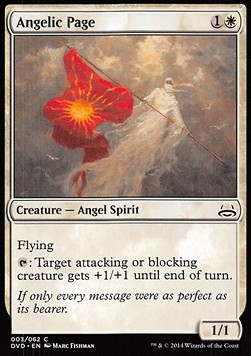 Angelic Page, Duel Decks Anthology