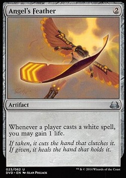 Angel's Feather, Duel Decks Anthology