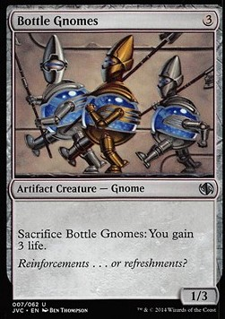 Bottle Gnomes, Duel Decks Anthology