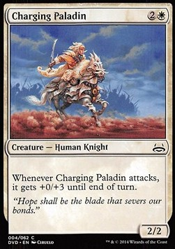 Charging Paladin, Duel Decks Anthology