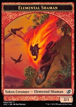 Elemental Shaman Token, Duel Decks Anthology