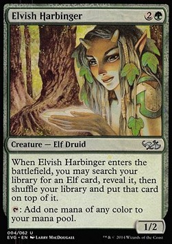 Elvish Harbinger, Duel Decks Anthology