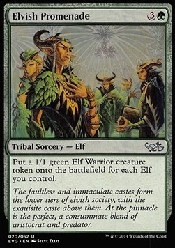 Elvish Promenade, Duel Decks Anthology