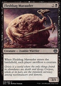 Fleshbag Marauder, Duel Decks Anthology