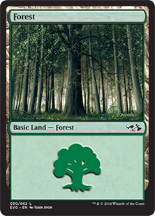 Forest, Duel Decks Anthology