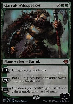 Garruk Wildspeaker, Duel Decks Anthology
