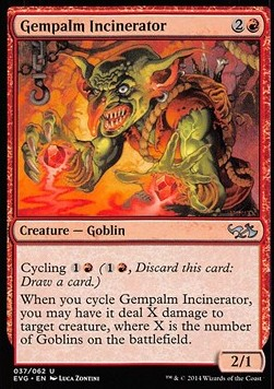 Gempalm Incinerator, Duel Decks Anthology