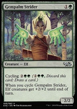 Gempalm Strider, Duel Decks Anthology