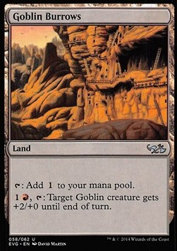 Goblin Burrows, Duel Decks Anthology