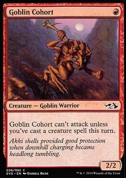 Goblin Cohort, Duel Decks Anthology
