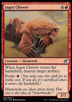 Ingot Chewer, Duel Decks Anthology