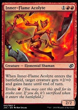 Inner-Flame Acolyte, Duel Decks Anthology
