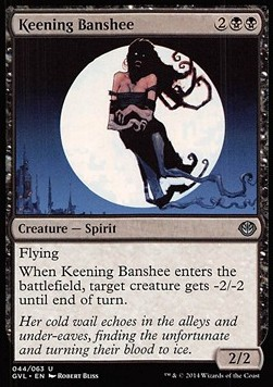 Keening Banshee, Duel Decks Anthology