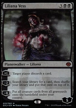 Liliana Vess, Duel Decks Anthology