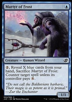 Martyr of Frost, Duel Decks Anthology