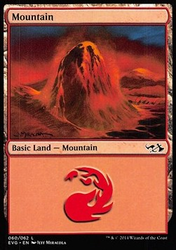 Mountain, Duel Decks Anthology