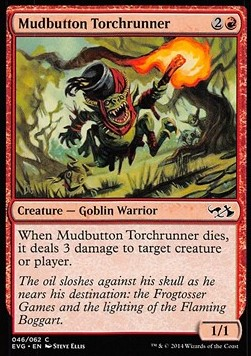 Mudbutton Torchrunner, Duel Decks Anthology