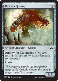 Oxidda Golem, Duel Decks Anthology