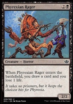 Phyrexian Rager, Duel Decks Anthology