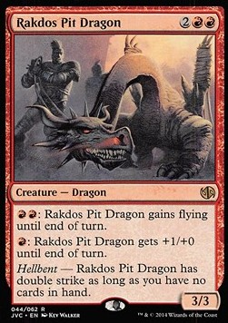 Rakdos Pit Dragon, Duel Decks Anthology