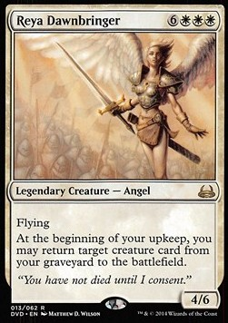 Reya Dawnbringer, Duel Decks Anthology