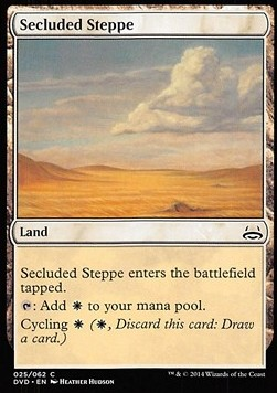 Secluded Steppe, Duel Decks Anthology