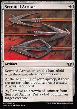 Serrated Arrows, Duel Decks Anthology