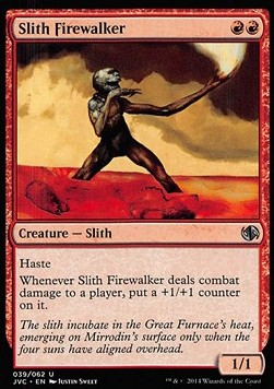 Slith Firewalker, Duel Decks Anthology