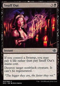 Snuff Out, Duel Decks Anthology