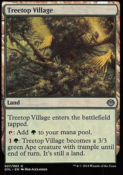 Treetop Village, Duel Decks Anthology