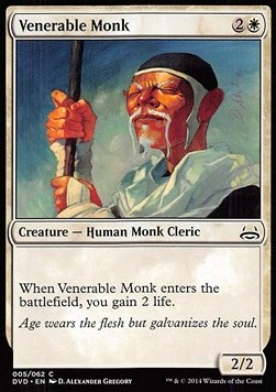 Venerable Monk, Duel Decks Anthology