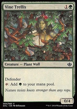 Vine Trellis, Duel Decks Anthology