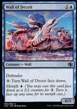 Wall of Deceit, Duel Decks Anthology