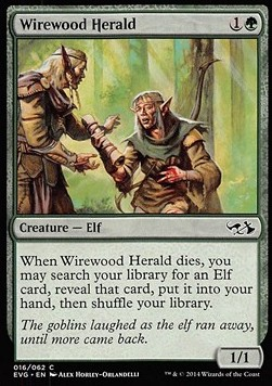 Wirewood Herald, Duel Decks Anthology