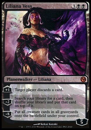 Liliana Vess, Duels of the Planeswalkers Promos