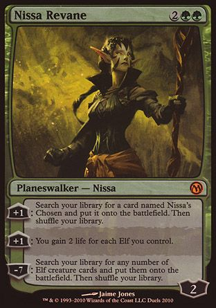 Nissa Revane, Duels of the Planeswalkers Promos