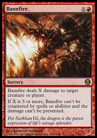 Banefire, Duels of the Planeswalkers