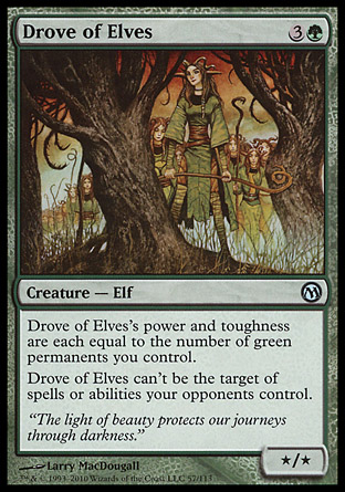 Drove of Elves, Duels of the Planeswalkers