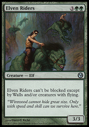Elven Riders, Duels of the Planeswalkers