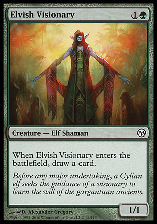 Elvish Visionary, Duels of the Planeswalkers