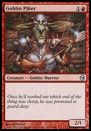 Goblin Piker, Duels of the Planeswalkers